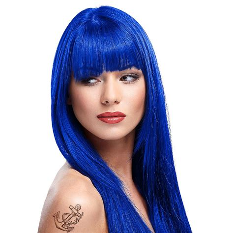 Colors To Dye Hair by La Riche Directions Midnight Blue Colour Hair Dye Hair