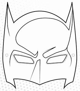 superhero printables With batman face mask template