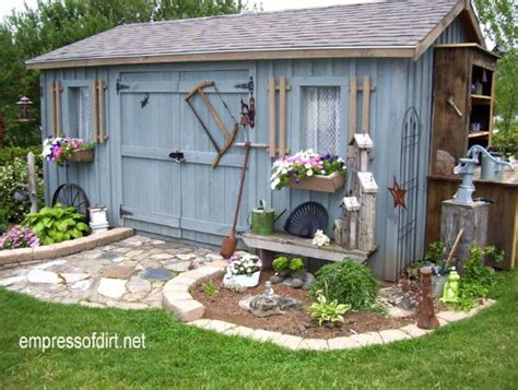 decorating a shed 40 creative home garden shed designs empress of dirt