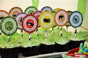 family cake toppers kratts birthday party