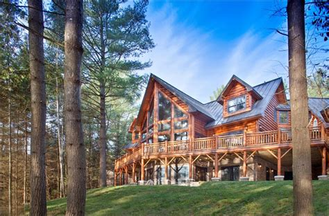 efficiency house plans wisconsin log homes