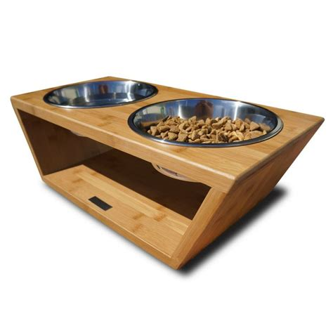 elevated cat food table 30 best images about pet applications with rubber bumper