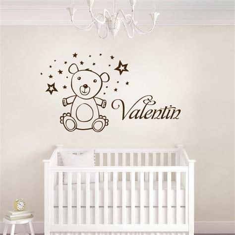 stickers muraux chambre enfant stickers ourson