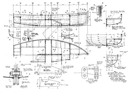 Wood Boat Drawing by Wooden Boat Building Drawings Plans Wooden Boats