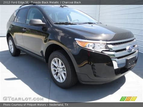 2013 Ford Edge Se by Tuxedo Black Metallic 2013 Ford Edge Se Charcoal Black