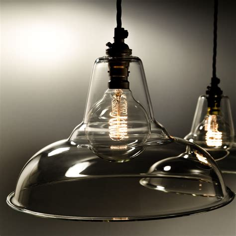 glass pendant light shades l shades factorylux