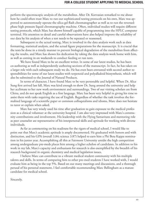 medical school letters  recommendation  faq inquarta