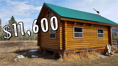 tinyhouse log cabin kit   youtube