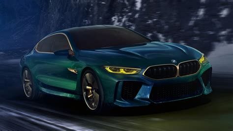 bmw concept  gran coupe hd wallpaper achtergrond