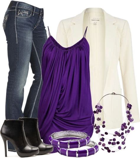Best 25+ Purple Shirt Outfits ideas on Pinterest | T shirt and jeans outfit Purple weekend ...