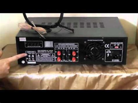 digital radio receiver test pylepro pt560au 300 watts digital am fm stereo receiver