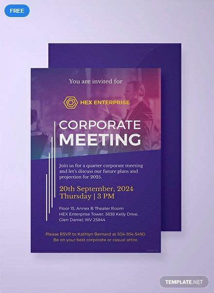 pin  business invitation card designs templates