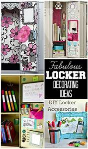 Locker Decorating Ideas - Design Dazzle
