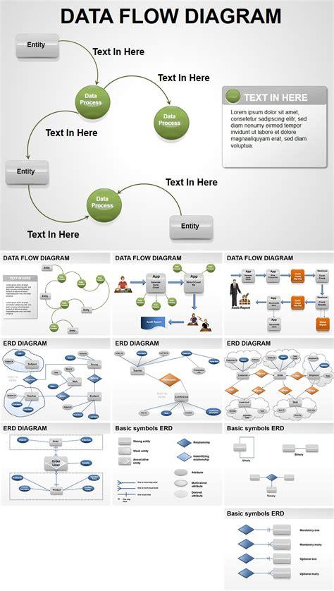 data flow powerpoint diagrams
