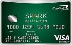 Capital one spark business card review 500 bonus for Spark capital one business card