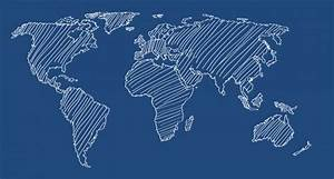 WORLD MAP VECTOR LINE ART | Designers Revolution: Premium ...