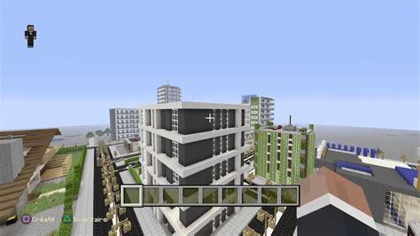 minecraft serveur ville moderne ps4 recrutement citoyen et architecte