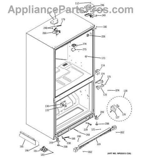 parts  ge pgsspjxcss case parts appliancepartsproscom