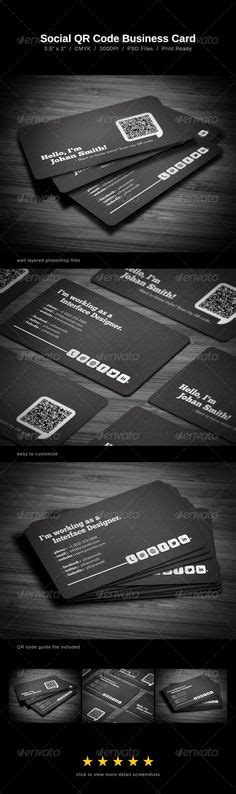 business cards  social media contact