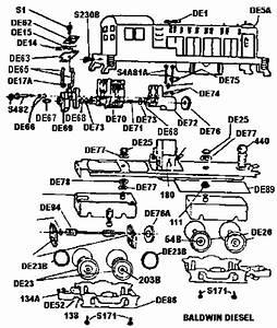 American Flyer Trains Parts Diagrams