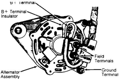jeep xj alternator wire