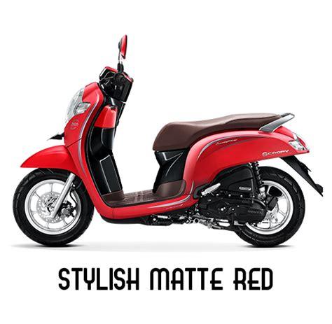 Pcx 2018 Merah Maroon by Harga Honda Scoopy 2019 Tipe Cbs Iss Ada 7 Pilihan Warna