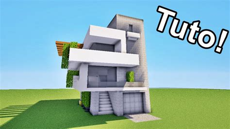 minecraft tuto grande maison moderne map