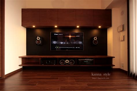 soundproofing for home theater ホームシアター 神戸のオーダー家具 kanna テレビボード テーブル キッチン等をあなた好みに提案する家具屋