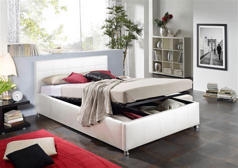 Sam® Design Bett 100 X 200 Cm Weiß Kira Bettkasten