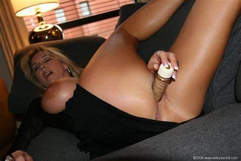 Sharing Wifey With New Stepson Wifey Rubbing With A Toy