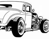 Rod Coloring Clipart Rods Vector Cartoon Cars Ford Drawings Rat Drawing Cool Adult Cartoons Pack Vectors Magz Graphics Colouring Dap sketch template