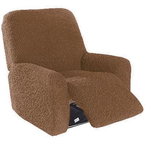 housse de canapé et fauteuil housse fauteuil de relaxation gaufrée brio choco achat