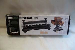 Trend Cdj300 Jig Dovetail Brand New Trend Router Cutter