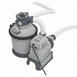 Filtre A Piscine Intex : intex filtre sable 4m3 h piscine jusqu 39 20m3 achat ~ Dailycaller-alerts.com Idées de Décoration