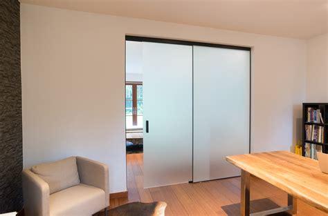 portes coulissantes en verre sur mesure  doors