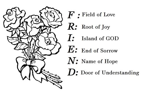 friend  quotes coloring pages