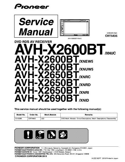 pioneer avh p4450bt wiring diagram 34 wiring diagram