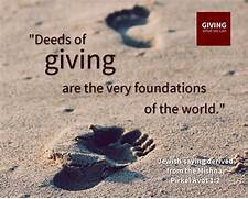 Charity Quotations   G...