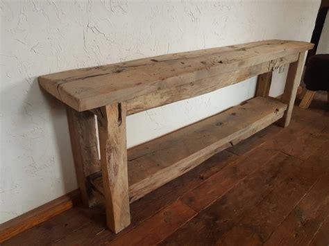 u bureau oud eiken sidetable natuurlijk eiken hout gebr de