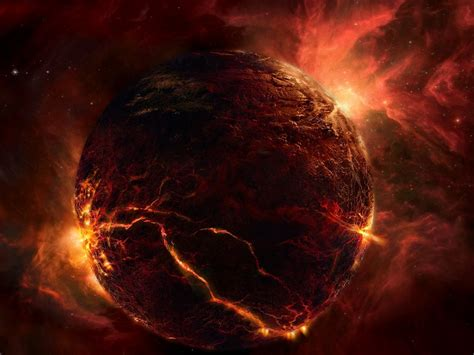 outer space red planet sky wallpapers outer space red