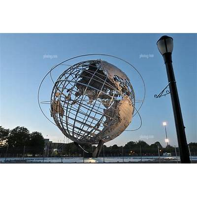 Worlds Fair Unisphere New York City Flushing Queens