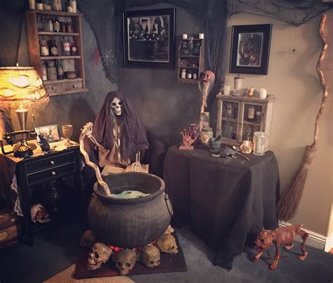 The Witch Themed Party