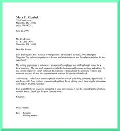 images  sample cover letters  pinterest