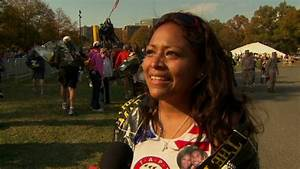 Military widow honors husband in Marine Corps Marathon run ...
