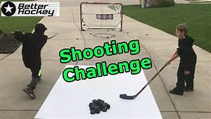 Kids HocKey Shooting Challenge Cbanks vs TG | NHLtv.NET