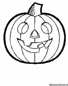 Dibujo de una calabaza de halloween