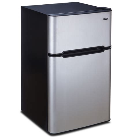 2 door mini fridge premium 3 2 cu ft mini food refrigerator stainless steel 2