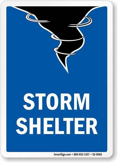 Shelter Storm Sign Graphic Emergency S2 Legend