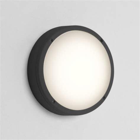 ast7122 arta 275 outdoor circular wall light black