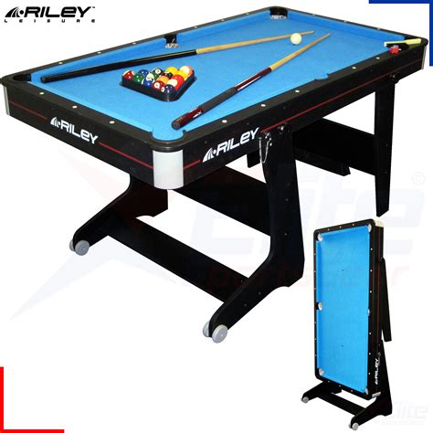 5ft folding table target riley 5ft deluxe pool table cues balls vertical
